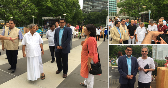 International Yoga Day Celebration at United Nations